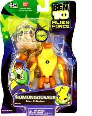 BANDAI Ben 10 Alien Force 4 Inch Action Figure Humungousaur ...