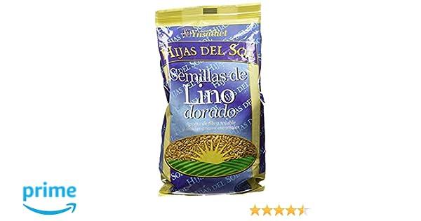 Hijas Del Sol Semilla Lino - 400 gr - [Pack de 5]: Amazon.es: Alimentación y bebidas