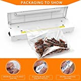 Heat Sealer, PAMISO Vacuum Sealer Bag Sealing System, Heat Capper Family Mini Sealing Machine Food Saver for Mylar Bag and Cereal Bags for Airtight Seal