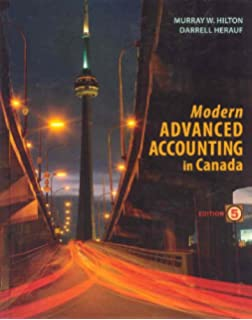 Modern advanced accounting in canada with connect with smartbook.