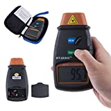 #6: Signstek Digital Professional Automatical Switchover Non Contact Laser Photoelectric Photo Type Tachometer