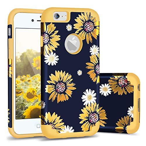 Casewind iPhone 6s Case Sunflower,iPhone 6