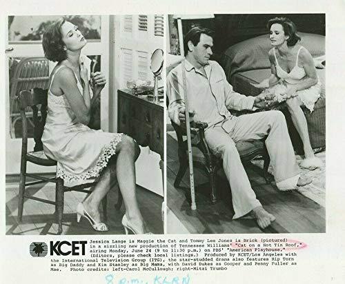 Cat On A Hot Tin Roof - Tommy Lee Jones, Jessica Lange Press Photo MBX72