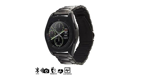 Silica DMT179BLACK - Smartwatch g6 con Pantalla Circular y ...