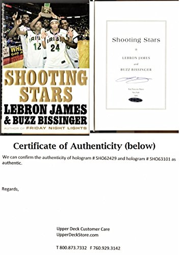 LeBron James Signed Autographed Shooting Stars 2009 Hardcover Book UDA Upper Deck Authenticated Authenticity Cleveland Cavaliers Miami Heat