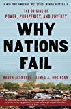 Book cover for Why Nations Fail: The Origins of Power, Prosperity, and Poverty