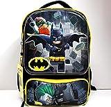 Lego Batman Backpack 3D Molded - 16' Officially Licensed Lego Backpack