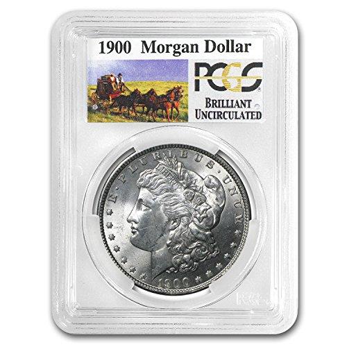 1900-stage-coach-silver-dollar-bu-pcgs-1-brilliant-uncirculated-pcgs