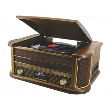 Soundmaster NR513DAB - Tocadiscos con lector de CD, cassette ...