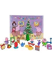 Peppa Pig PEP0658 Adventskalender 2021 met Peppa Putz speelfiguren en accessoires voor kinderen vanaf 2 jaar