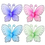 A Pair Butterfly Design Curtain Clip Metal Window Tie Back Hold