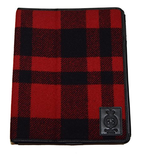 (Polo Ralph Lauren Media Tablet Ipad Case Red Buffalo Plaid)