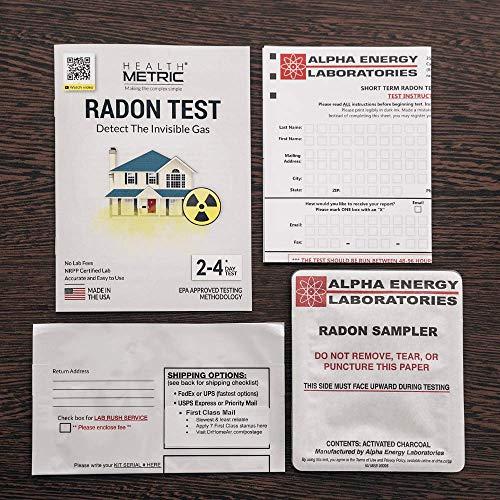Buy long term radon test kit