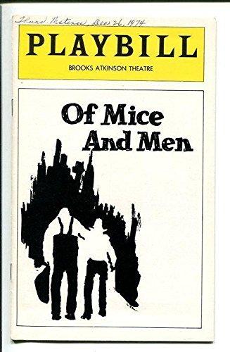 James Earl Jones Kevin Conway Pamela Blair Pat Corley Of Mice and Men