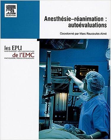 ANESTHESIE TÉLÉCHARGER REANIMATION EMC