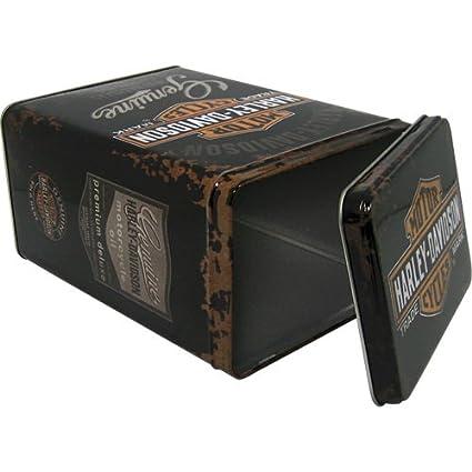 Harley-Davidson Genuine logo - Caja de almacenamiento 10x14x20 cm: Amazon.es: Hogar