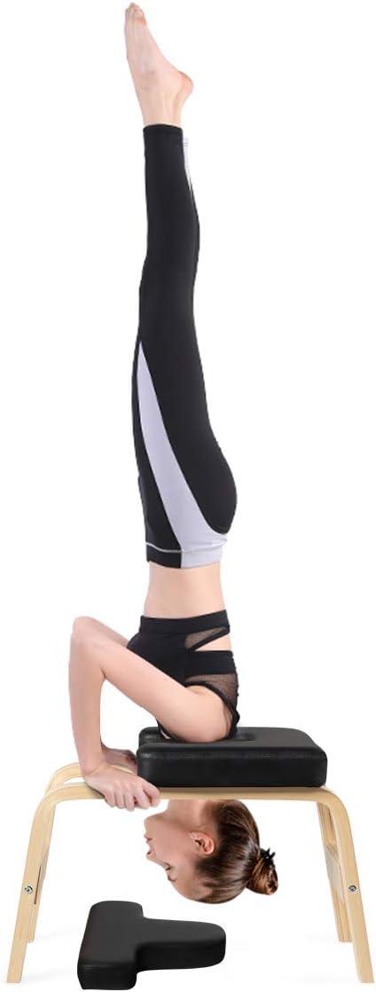 Giantex Yoga Headstand Bench w VC Pad