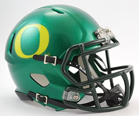sale retailer 4f4a0 2f34f Oregon Ducks Riddell Speed Mini Football Helmet