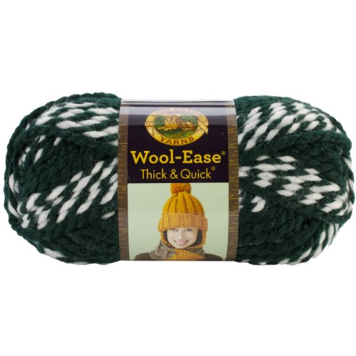 Lion Brand Lion  640-605 Wool-Ease Thick & Quick Yarn , 9...