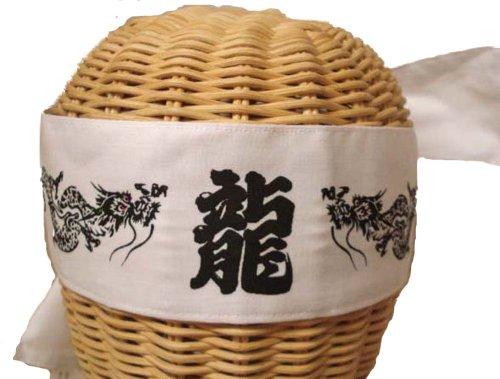 Karate Dragon Headbands hachimaki set