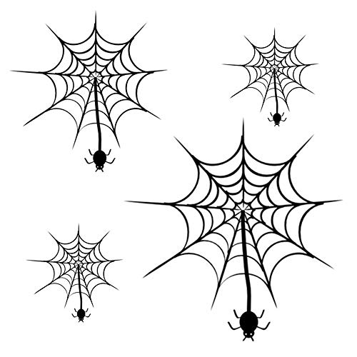 Wadyx Wall Stickers Wall Decal Spider Web Creative