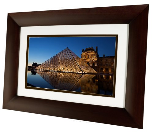 HP HP-DF1010P1 10-Inch Digital Picture Frames (Espresso Brown) by HP