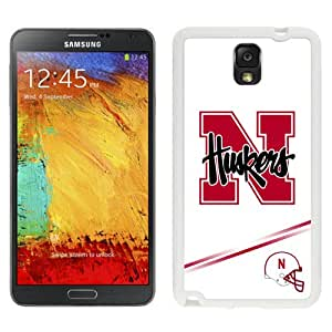 Fashion Custom Designed Cover Case For Samsung Galaxy Note 3 N900A N900V N900P N900T Phone Case With Ncaa Big Ten Conference Football Nebraska Cornhuskers 10 Protective Cell Phone Hardshell Cover Case for Galaxy Note 3 III N900 N9005 White