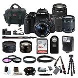 Canon Rebel T6i Digital SLR Camera Bundles (18-55mm & 75-300mm Lens Bundle)