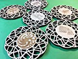Game of Thrones Great Houses Wood Coasters (Set of 6) | Game of Thrones Gift