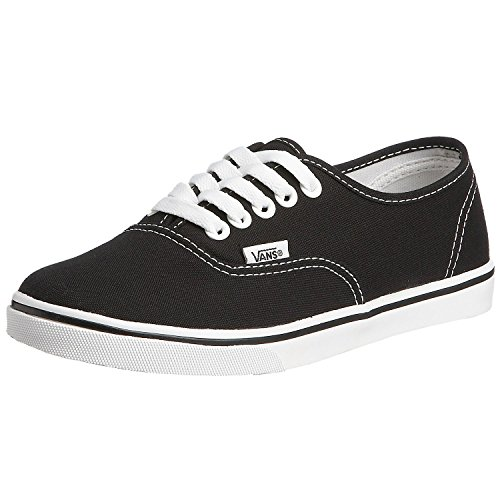 - Vans Unisex Authentic Lo Pro Skate Shoe (35 M EU/5.5 B(M) US Women/4 D(M) US Men, Black/True White)