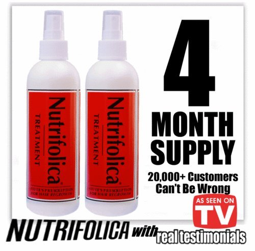 Nutrifolica Hair Loss Treatment to Regrow Hair Naturally ...