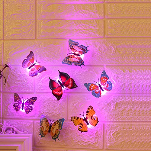Led 3D Butterfly Night Lights in US - 1