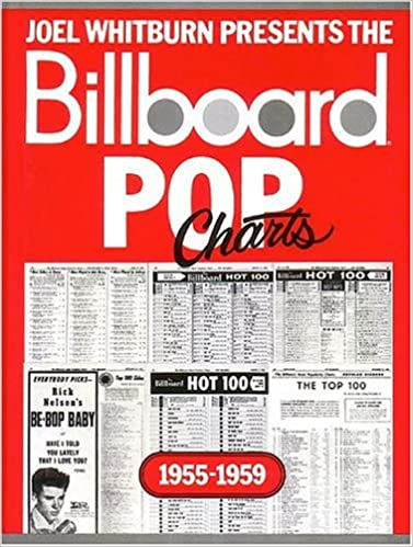 Amazon joel whitburn presents the billboard pop charts 1955 1959