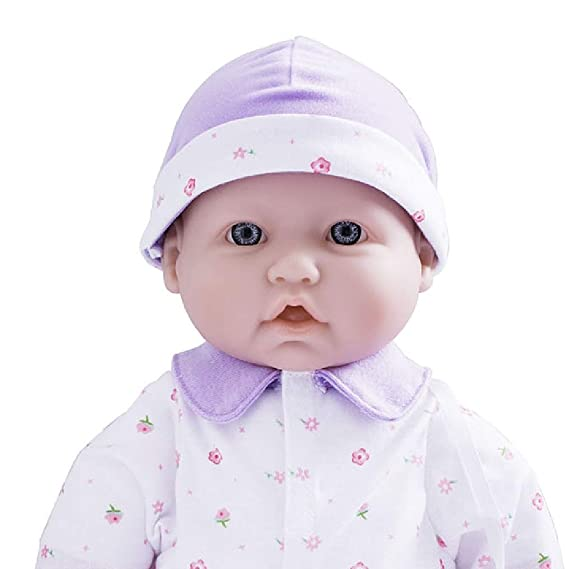 232b3858dafc Amazon.com: JC Toys, La Baby 16-inch Purple Washable Soft Baby Doll with  Baby Doll Accessories - for Children 12 Months and Older, Designed by  Berenguer: ...