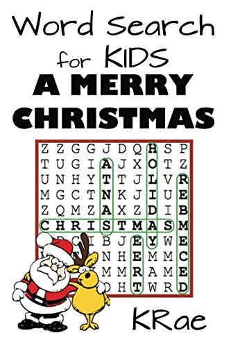 Word Search for Kids: A Merry Christmas (Puzzle Books for Kids) (Volume 1)