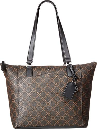 Nine West Womens Atwell Tote Brown One Size