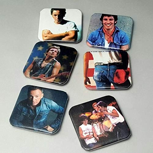 Bruce Springsteen Magnet - Bruce Springsteen And The E Street Band - Bruce Springsteen Born In The USA - Dancing In the Dark - Rock Band Magnets - Bruce Springsteen Gifts