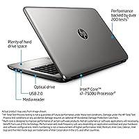 Top Performance HP 15.6 Premium Touchscreen HD Laptop, Intel i7-7500U Up to 3.5GHz, 8GB DDR4 RAM, 1TB HDD, DVD, Wifi, Bluetooth, HDMI, Webcam, Windows10