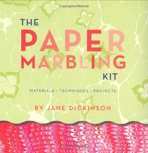 Paper Marbling Kit (The Paper Marbling Kit: Materials, Techniques, and Projects)