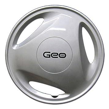 OEM genuino GM Geo rueda cover - profesionalmente refinished como nuevo - 13 en repuesto Tapacubos para 1995 - 1997 Metro: Amazon.es: Coche y moto