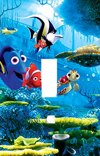 Got You Covered Finding Nemo 3 Dory & Friends Light Switch Cover or Outlet ((Option 1) 1x Toggle) by Got You Covered