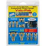 OOK 50918 Professional Picture Hanging Value Pieces Kit, hangs up to 17 frames 4-Pack