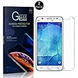 Galaxy J5 2016 Screen Protector, Bear Village® Tempered Glass Screen Protector [Lifetime Warranty], HD Screen Protector Glass for Samsung Galaxy J5 2016-2 PACK