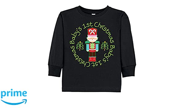 9b545ba624c9 Amazon.com: inktastic - Nutcracker First Christmas Baby Toddler Long Sleeve  T-Shirt 204c5: Clothing