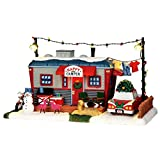 Lemax Happy Camper Village Building Multicolored Resin 1 pk