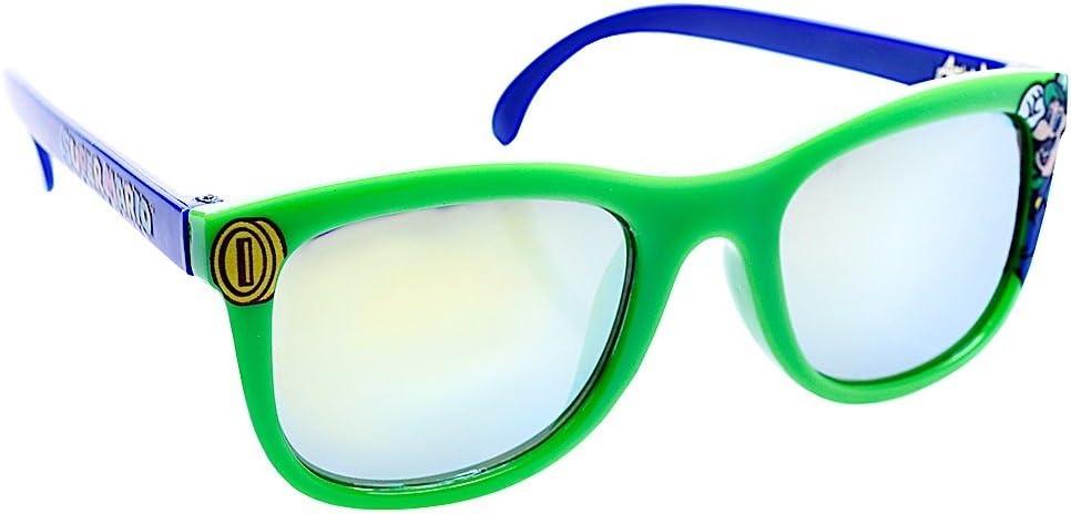نظارة شمسية تنكرية بتصميم شخصية لويجي اركيدز للحفلات بعامل الوقاية من الأشعة فوق البنفسجية 400