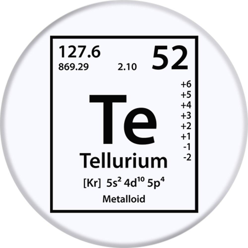 Amazon Periodic Tees Co Tellurium Te Element Periodic Table
