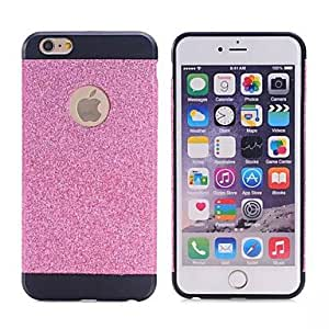 WQQ Luxury Hybrid TPU Hard Shiny Bling Sparkle With Crystal Rhinestone Cover Case For Apple iPhone 6 [4.7 Inch] , Blue