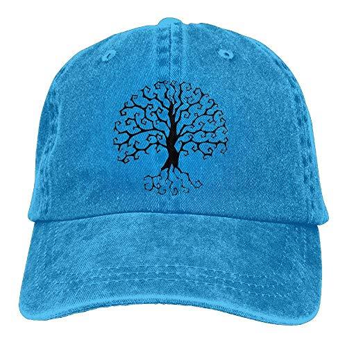 Sport of Hats Yggdrasil Cowgirl Tree Cowboy Hat Women for Men Skull Life Cap Denim DEFFWB qP1wvtt