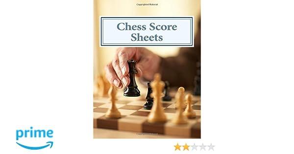 Chess Score Sheets: Peter Enfield: 9781492296881: Amazon.com: Books